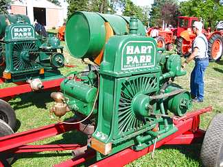 Hart Parr power unit engine