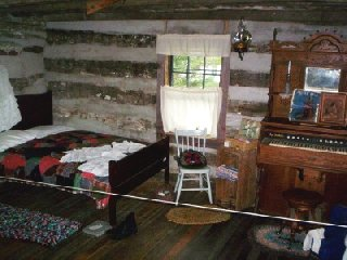Pioneer Power Log Cabin